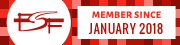 FSF Member since January 2018